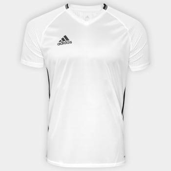 camisetas adidas em promocao 52884c9db1ed9f  Camisa Adidas Condivo 16  Masculina - Branco e Preto em Promoção no . 8dc5f2496909b