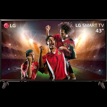 Smart TV LED 43'' Full HD LG 43LK5700 com IPS Inteligencia Artificial ThinQ AI WI-FI Processador Quad Core e HDR 10 Pro