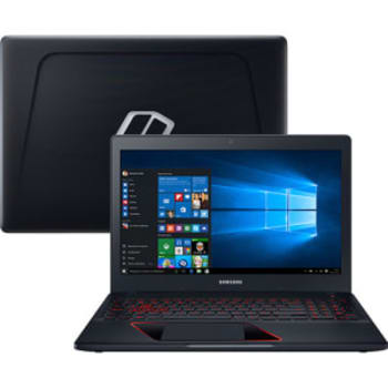 Notebook Odyssey Intel Core 7 I5 8GB (GeForce GTX 1050 com 4GB) 1TB Led Full Hd 15.6'' W10 Preto - Samsung