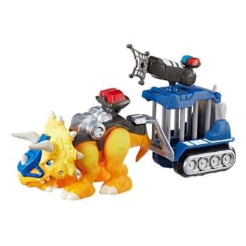 Figura Articulada - Playskool Heroes - Chomp Squad - Amarelo - Hasbro