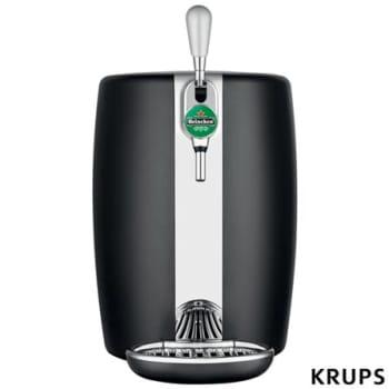 Chopeira Beertender Krups Heineken com Capacidade de 5 Litros Preto - B101_CHOP - ARB101CHOPPTO_PRD