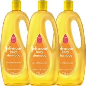 Leve Mais e Pague Menos 3 Shampoos Johnson's Baby 750ml cada