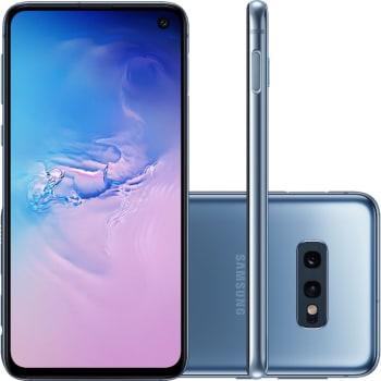 "Smartphone Samsung Galaxy S10e 128GB Dual Chip Android 9.0 Tela 5,8"" Octa-Core 4G Câmera 12MP + 16MP - Azul"