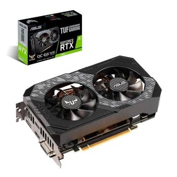 Placa de Video Asus GeForce RTX 2060 6GB GDDR6 TUF Gaming OC 192-bit TUF-RTX2060-O6G-GAMING