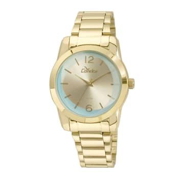 Relógio Condor Feminino Dourado Analógico CO2035KUC/K4V
