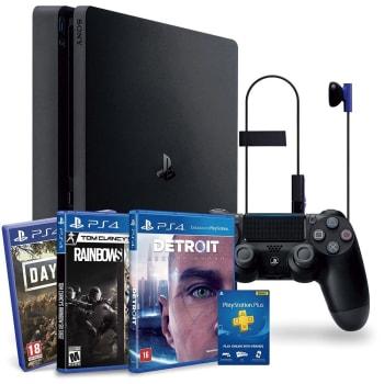 Console Playstation 4 Slim 1TB Hits Bundle