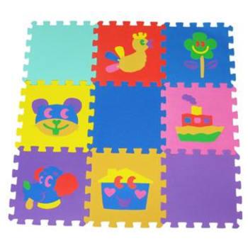 Tatame Infantil em EVA 9 peças 8 MM - Mingone