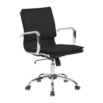 Cadeira de Escritório Diretor Eames Comfort PretaCadeira de Escritório Diretor Eames Comfort Preta