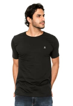 3e916085eb4eb Camiseta Polo Wear Logo Preta em Promoção no Oferta Esperta