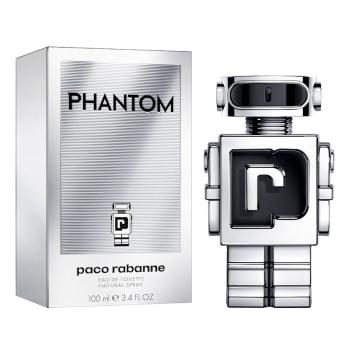 Perfume Masculino Paco Rabanne Phantom Eau de Toilette 100ml - Incolor