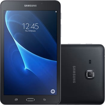 "Tablet Samsung Galaxy Tab A T280 8GB Wi-Fi Tela 7"" Android Quad-Core - Preto"