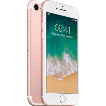 iPhone 7 256GB Ouro Rosa Desbloqueado IOS 10 Wi-fi + 4G Câmera 12MP - Apple