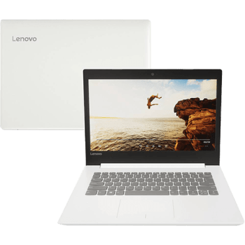 Notebook Lenovo Ideapad 320 Intel Core i3 4GB 500GB Tela 14'' HD Antireflexo Windows 10 - Branco