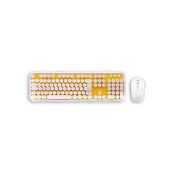 Teclado+mouse S/fio C3 Tech Branco USB (k-w200wyl) *