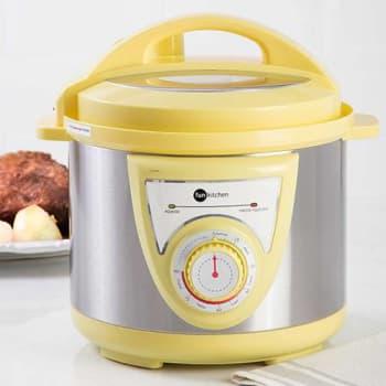 Panela de Pressão Elétrica Fun Kitchen 4L Amarelo