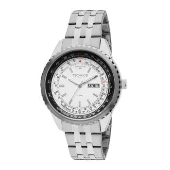 Relógio Technos Masculino Prata Analógico 8205NM/1B