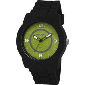 Relógio Masculino Analógico Mormaii, Pulseira De Silicone Preto, Caixa de 4,8 Cm, Resistente À  Água 10 Atm (100Mtrs) - MO2036DP/8V