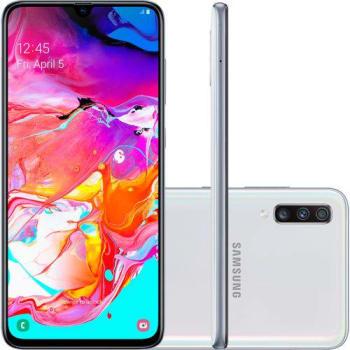 """Smartphone Samsung Galaxy A70 128GB Dual Chip 6GB RAM Tela 6.7"""""""