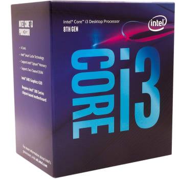 Processador Intel Core i3-8100 Coffee Lake, Cache 6MB, 3.6GHz, LGA 1151 - BX80684I38100