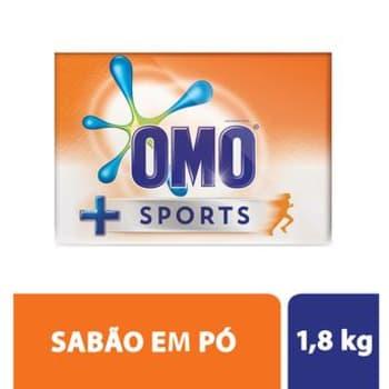 Sabão em Pó Omo Sports 1.8Kg