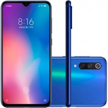 Smartphone Xiaomi Mi 9 SE 128GB 6GB RAM Versão Global Desbloqueado Azul