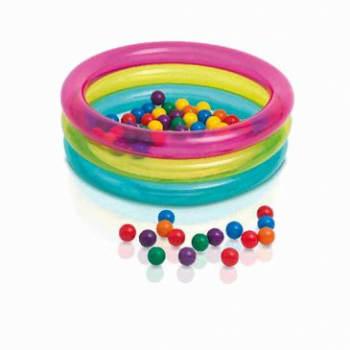 Piscina de Bolinhas Multi-color com 50 Bolinhas - Intex