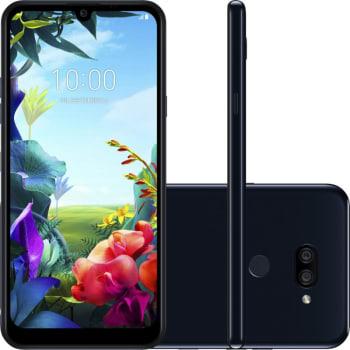 """Smartphone LG K40S Preto 32GB 3GB de RAM Tela de 6,1"""" Octa Core Camera Dupla de 13MP e 5MP"""