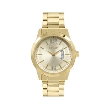 Relógio Condor Masculino Dourado Analógico CO2115KUU/4D