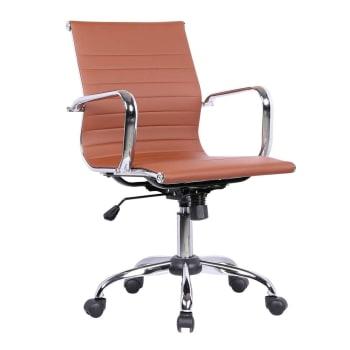 Cadeira de Escritório Eames Best Diretor MarromCadeira de Escritório Eames Best Diretor Marrom