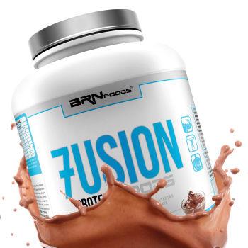 [3 sabores] Whey Protein Concentrado Fusion Protein Foods 2kg - BRN Foods