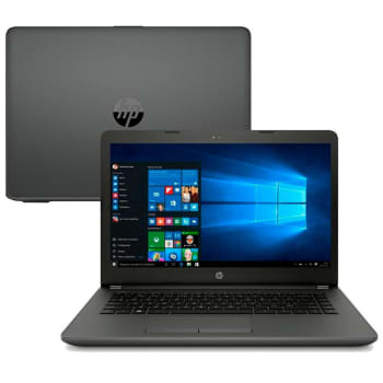 Notebook HP 246 G6, Intel Core i5-7200U, 4GB, 500GB, Windows 10 Home, 14´ - 5DZ55LA