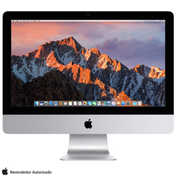 "iMac com Intel® Core™ i5, 8GB, 1TB, Tela de 21,5"", Placa de Vídeo Radeon Pro 560, macOS Sierra- MNE02BZ/A"
