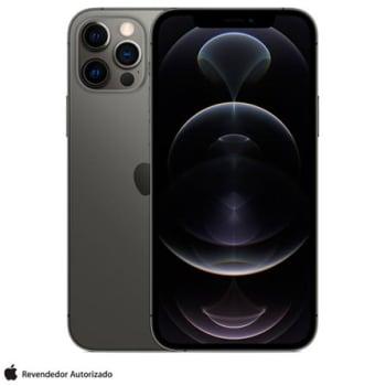 """iPhone 12 Pro Max 128GB Grafite, com Tela de 6,7"""", 5G e Câmera Tripla de 12MP - MGD73BZ/A"""