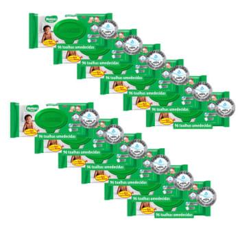 Kit de Lenços Umedecidos Huggies Turma da Mônica - 1152 Unidades