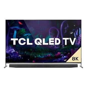 APP - Smart TV TCL 75 8K HDMI/USB Wi-fi QLED Dolby Vision Comando de Voz Google Assistant Sem Bordas Preto - X915