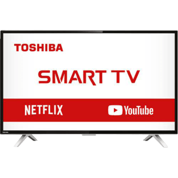 "Smart TV LED 32"" Semp Toshiba TCL 32L2800 HD com Conversor Integrado 3 HDMI 2 USB Wi-Fi 60Hz - Preta"