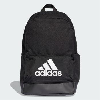 Mochila Adidas Clas BP Bos - Preto e Branco
