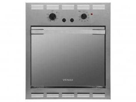 Forno de Embutir a Gás GLP Venax Cristallo GII - 18287 Inox 50L Grill Timer - Magazine Ofertaesperta