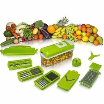 Nicer Dicer Plus Cortador Fatiador Legumes Verduras Frutas - Nicer