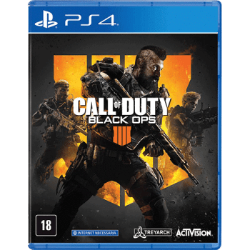 Game Call Of Duty Black Ops 4 - PS4