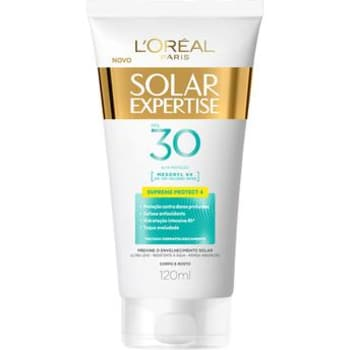 Protetor Solar L'Oreal Paris Expertise Supreme Protect 4 FPS 30 120ml