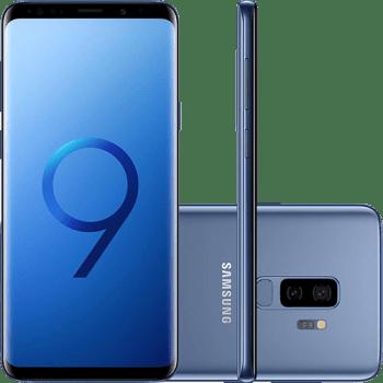 "Smartphone Samsung Galaxy S9+ 128GB Dual Chip 6GB RAM Tela 6.2"""