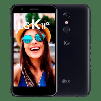 Smartphone LG K11 Alpha 16GB Preto LMX410BTW Tela 5,3 polegadas Dual Chip 4g