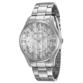 Relógio Feminino Analógico Seculus 28582L0SVNS2 - Cromado