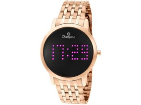 Relógio Feminino Champion Digital - CH40008H Rosê - Magazine Ofertaesperta