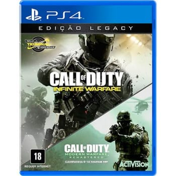 Game Call Of Duty: Infinite Warfare Legacy Edition - PS4