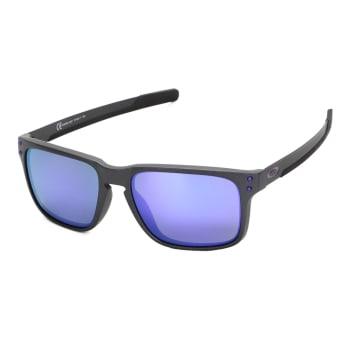 Óculos De Sol Oakley Holbrook Mix Iridium Masculino - Roxo