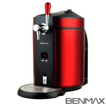 Chopeira Elétrica Maxicooler Benmax com Capacidade de 5 Litros Vermelha - BMMCR