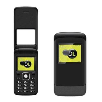 Celular Dl Yc230 Flip Dual Preto PRETO