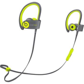Fone de Ouvido Beats Powerbeats 2 Wireless Earphone Amarelo e Cinza